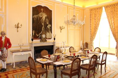 Chateau Usse - Dining Room