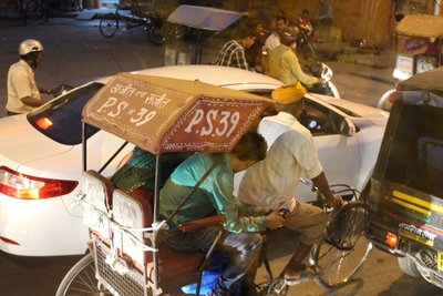 Jaipur - Rickshaw neighbor