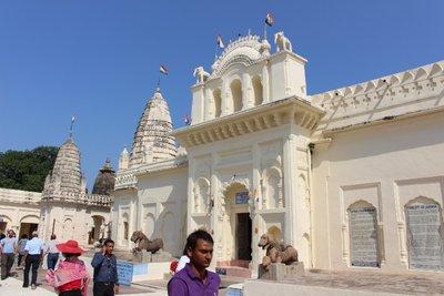 Khajuraho - Temple entrance