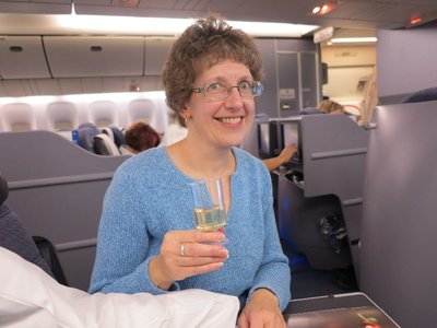 Sue on flt to New Delhi