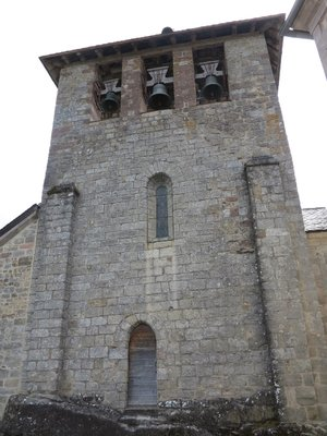 Curemonte - Saint Bethelemy Church Belltower
