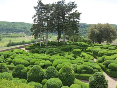 Topiary gardens at Chateau Marqueyssac