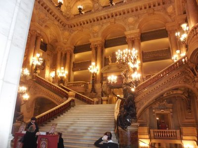 Paris - Opera Garnier - Grand staircase