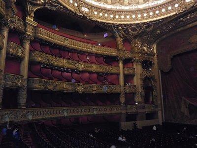 Paris - Opera Garnier - Interior Boxes