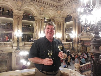 Paris - Opera Garnier - Intermission Champagne