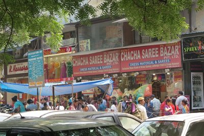 New Dehi market