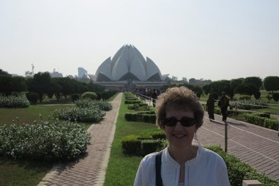 Delhi - Lotus Temple Sue