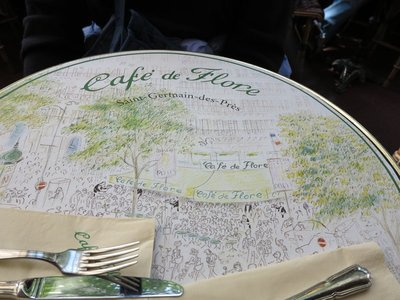 Paris - Cafe de Flore Placemat