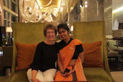 India - Sue with Aradhna