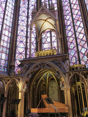 Paris - Sainte-Chapelle Interior
