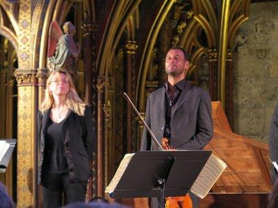 Paris - Sainte-Chapelle Concert Musicians