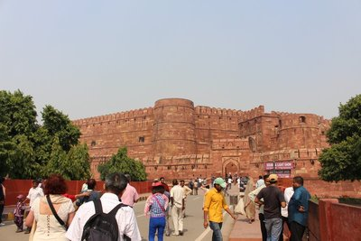 Agra Fort - Approach