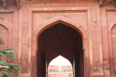 Agra Fort - Entrance