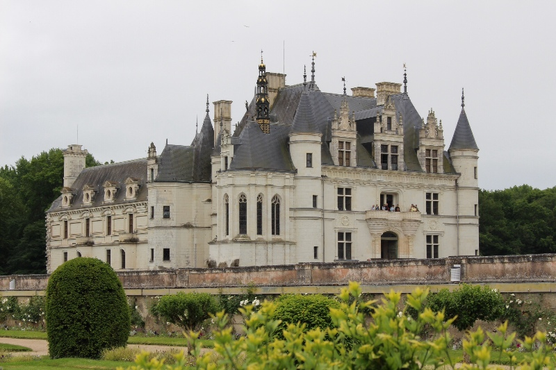 Chateau Chenonceau - From the garden