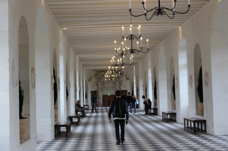 Chateau Chenonceau - Great Hall