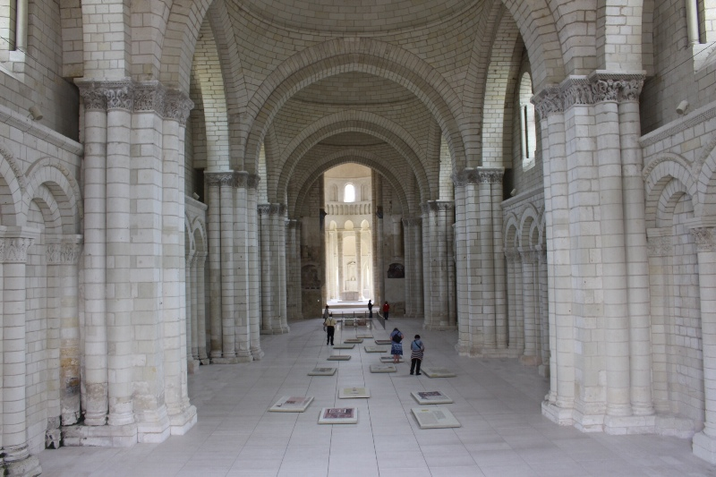 Fontevraud - Abbey from front