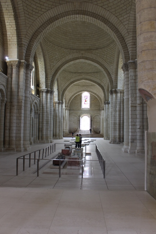 Fontevraud - Abbey from rear