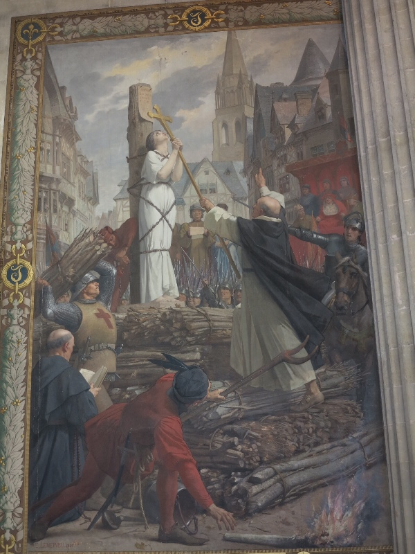 Pantheon - Painting - Joan of Arc