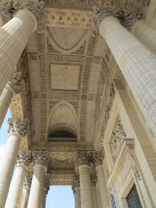 Pantheon - Front entranceway cover