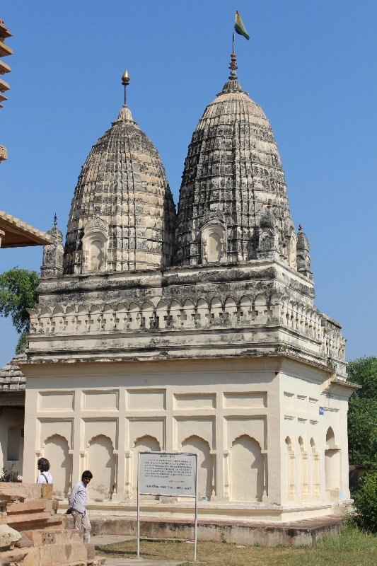 Khajuraho - Twin dome temple