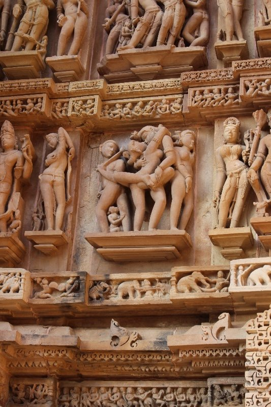 Khajuraho - Temple Carvings