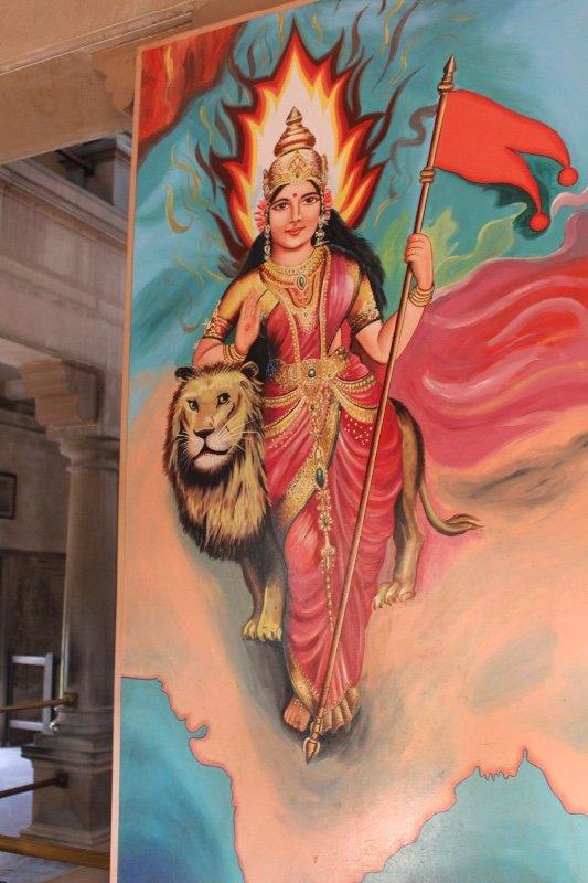 Varanasi - Mother India Temple