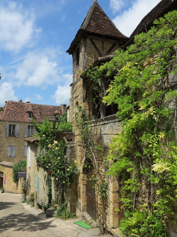 Sarlat - pretty town view