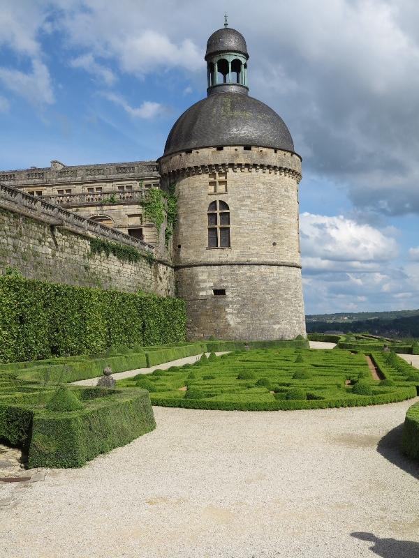 Chateau de Hautefort - Turret