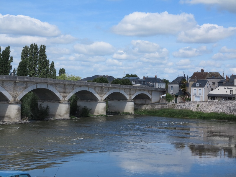 Amboise - bridge over the Loire