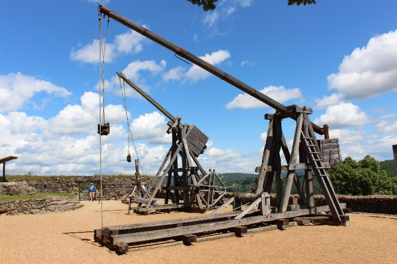 Castelnaud - Trebuchets