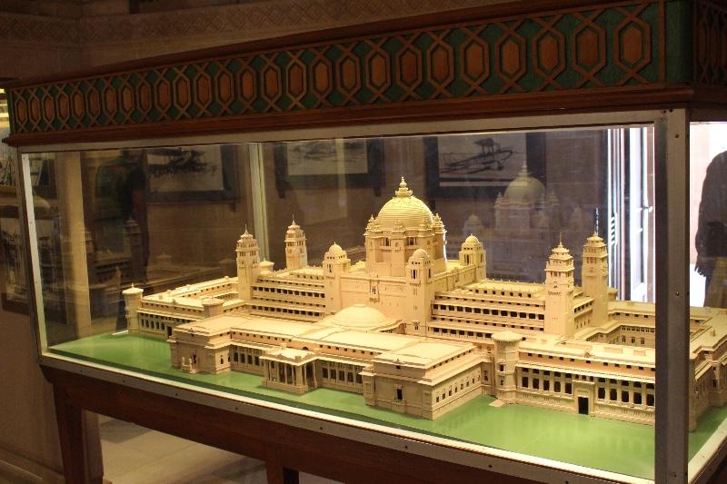Umaid Bhawan Palace Model