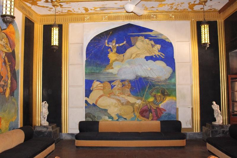 Umaid Bhawan Palace art