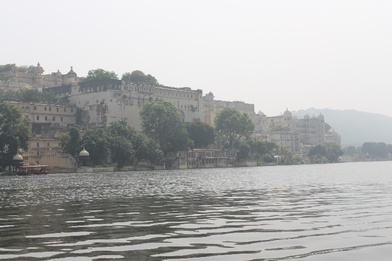 Palace view from lake