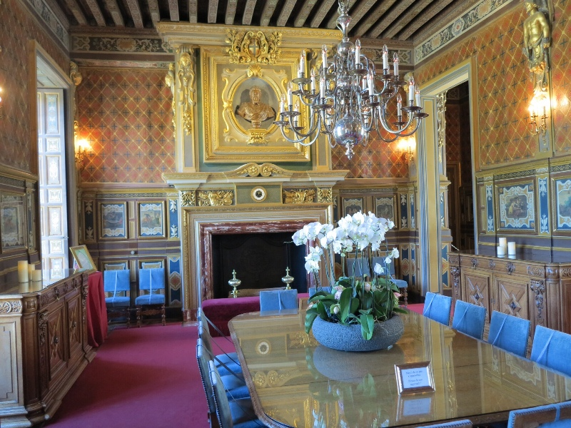 Cheverny - Dining room