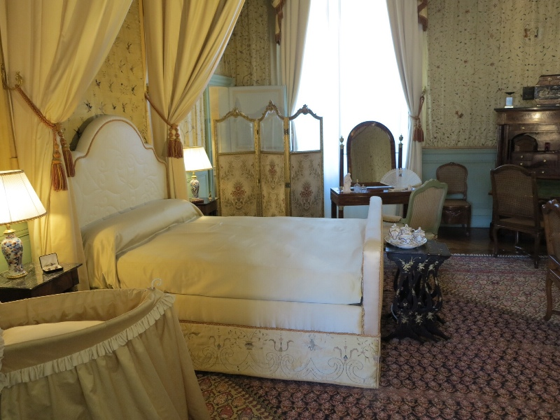 Cheverny - Chateau bedroom