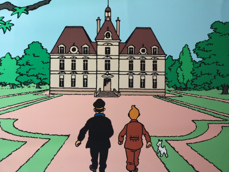 TinTin - Chateau inspired by Cheverny
