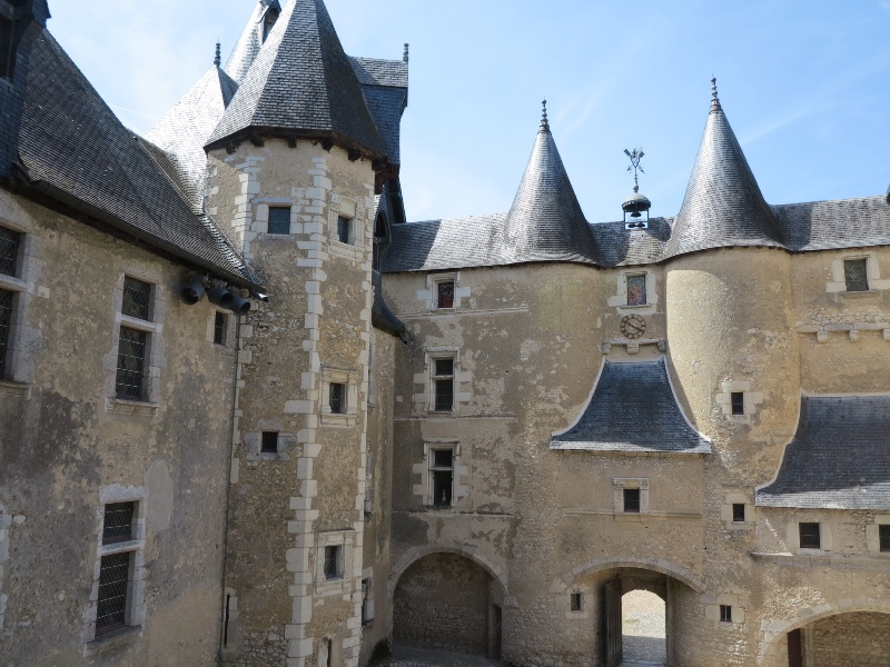 Fougeres - Courtyard view