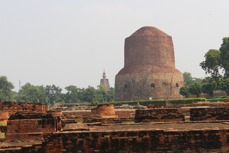 Sarnath - Buddhist Stupa