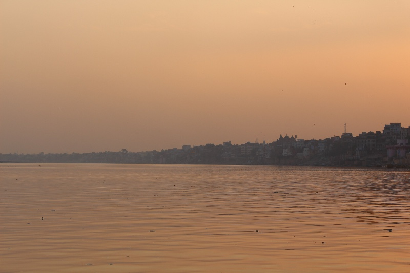 Varanasi - Ganges at Dusk