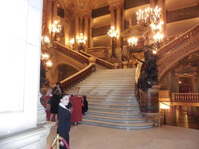 Paris - Opera Garnier Grand Stairway