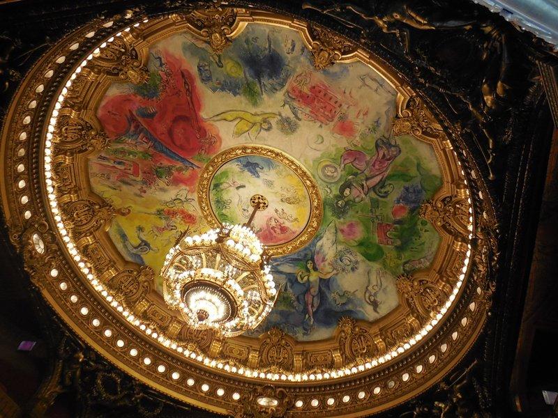 Paris - Opera Garnier - Chagall Ceiling