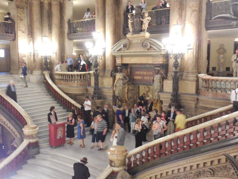 Paris - Opera Garnier - Lobby