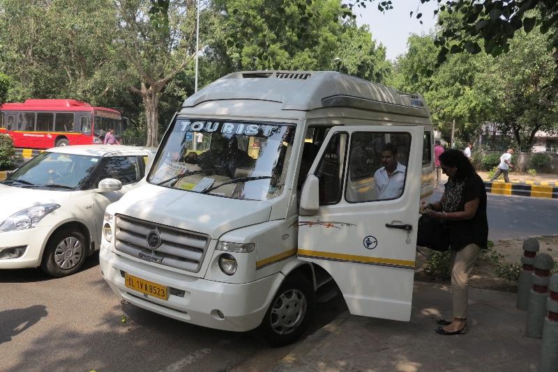 Tourist Van - New Delhi