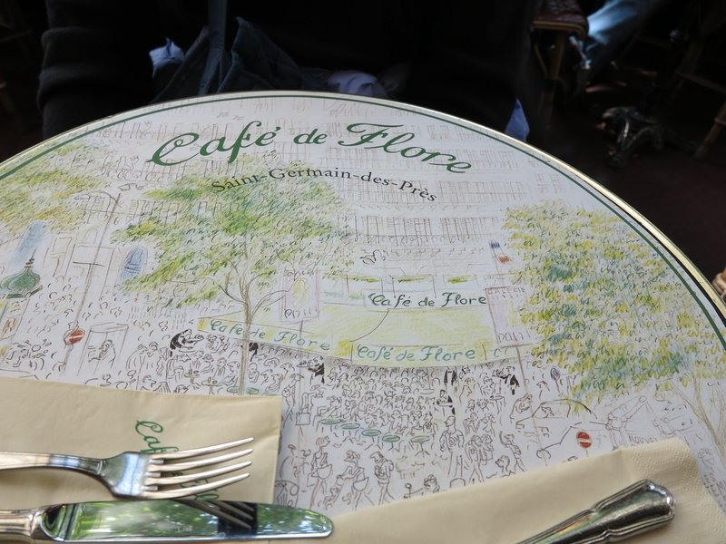 Paris - Cafe de Flore Placemat