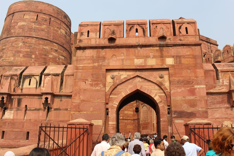 Agra Fort - Outer Walls