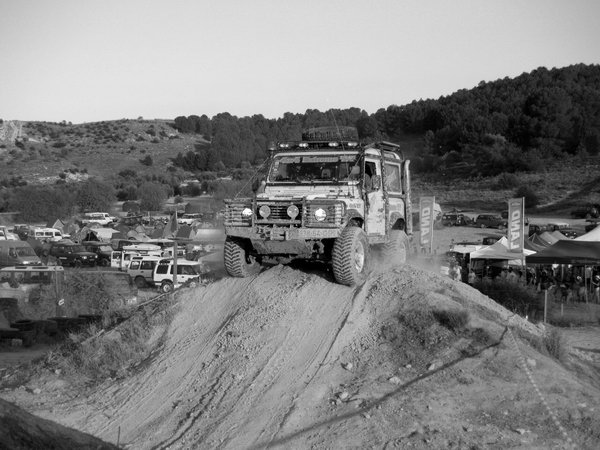 Concentration of Land Rover in Ocana