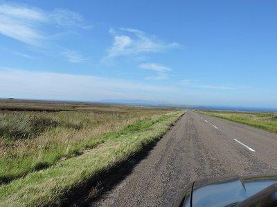 Almost at John O'Groats, Scotland