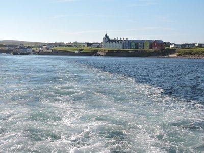Leaving John O'Groats for Orkney