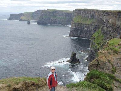 Walking the Burren Way, Cliffs of Moher