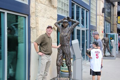 Me and Satchel Paige